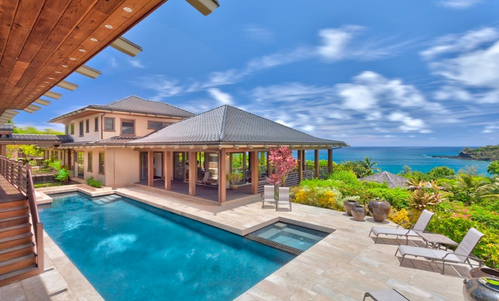 Hale Ikena Oceanfront Kauai Vacation Rental Description Below Photos